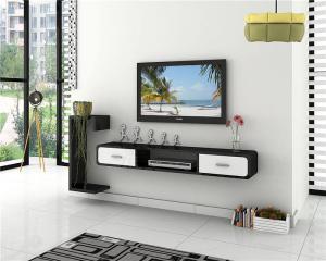 现代客厅挂墙式电视柜