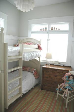 现代素雅两个孩子儿童房设计