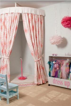 儿童房家装样板间试衣间