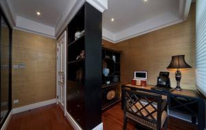 客厅小户型客厅书柜