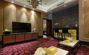 豪华中式客厅背景墙