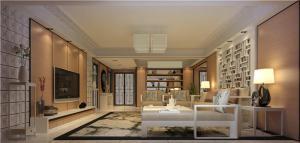 欧式奢华客厅沙发摆放效果图