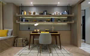 好看的最新小户型客厅书柜