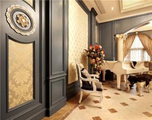 欧式装修钢琴房