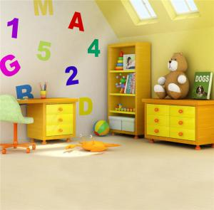 儿童房颜色搭配