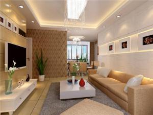 现代白色电视柜