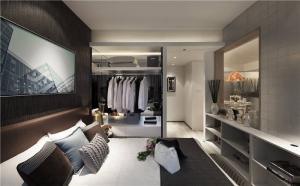 时尚壁柜衣柜
