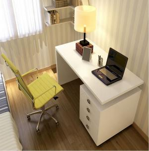白色烤漆家用书桌