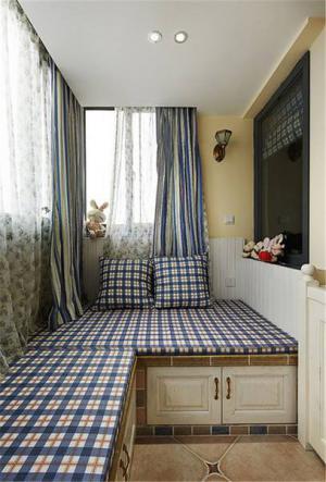 小阳台改卧室效果图榻榻米设计