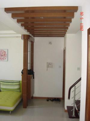 单身公寓家装玄关效果图