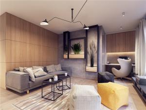 现代客厅小户型简约装修