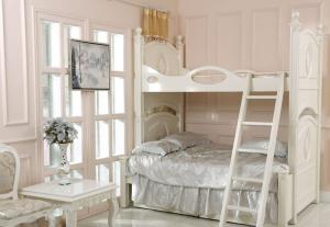 欧式儿童房设计上下床