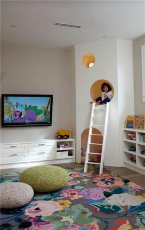 创意儿童房墙纸效果图