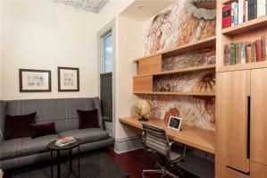 家具书柜多功能书桌