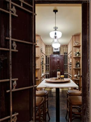 美式酒柜实景图