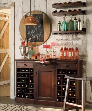 时尚美式酒柜