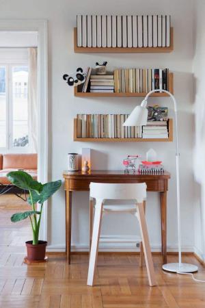 宜家风格简易书柜