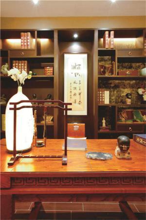 中式书房装修效果图实景图