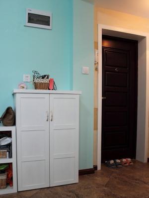 家居玄关装修效果图矮鞋柜
