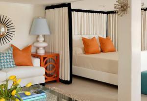 创意小阳台改卧室效果图