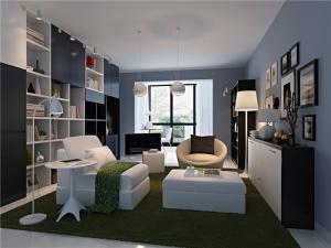 豪华客厅沙发组合