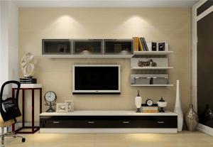 客厅装饰柜设计