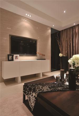 白色电视柜设计