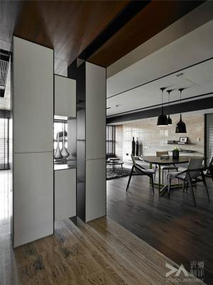 简易客厅屏风柜