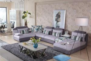 布艺欧式沙发