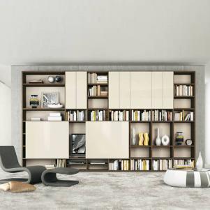 现代简约新款书柜