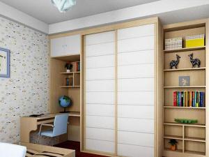 衣柜组合儿童房书柜