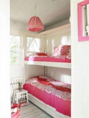 温馨感十足的卧室上下床装修效果图