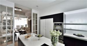 开放式厨房装修集成橱柜