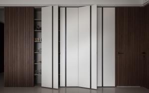 客厅酒柜装修隐形门