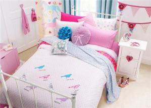 粉色系列儿童房颜色