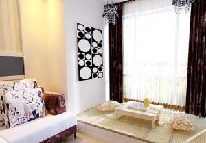 小客厅榻榻米装饰图