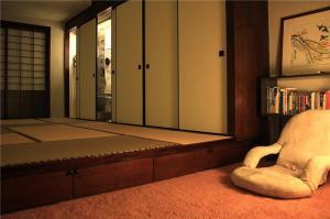 客厅日本榻榻米