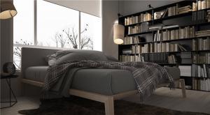 好看的最新卧室书柜