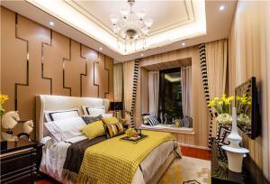 奢华带飘窗的卧室装修