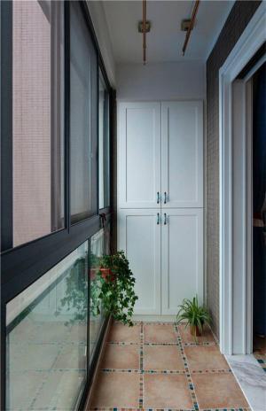 包阳台效果图储物间设计