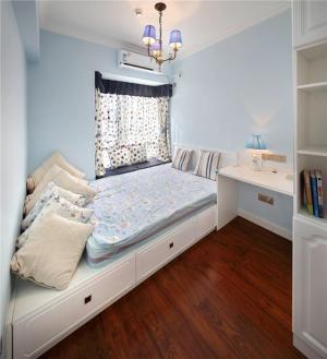 榻榻米卧室设计抽屉床