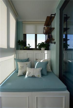 小阳台改卧室效果图实景
