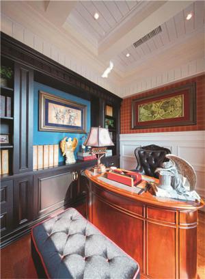 美式风格家用书桌