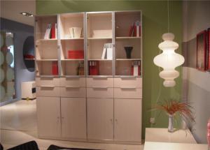 家居简易立式书柜