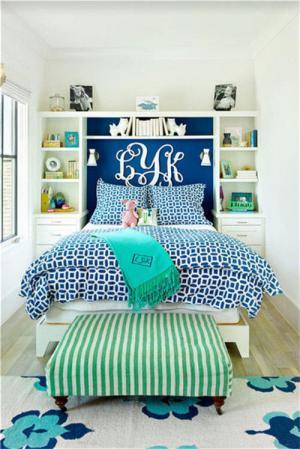 卧室儿童床实拍图