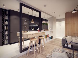 现代小户型家庭装修