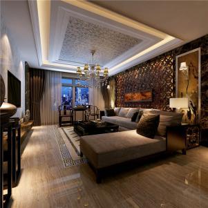 公寓型美式客厅家具