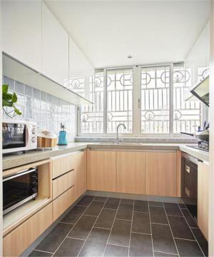 现代好看的整体厨房橱柜