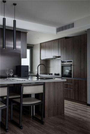 整体开放式厨房橱柜