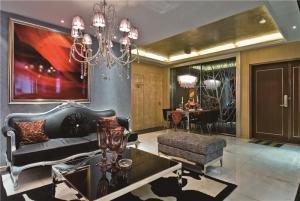 美式客厅家具搭配